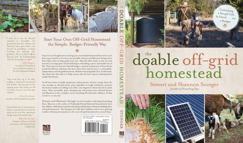 Book Cover - The Doable Off-Grid Homestead