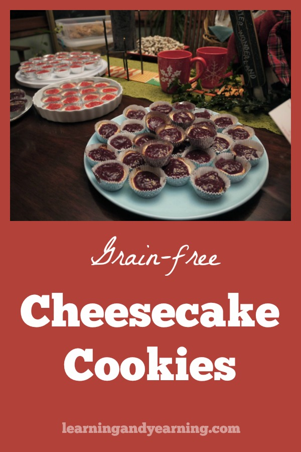 This is a recipe that we have enjoyed for years. They are easy to make and it's so much fun to pop a mini cheesecake cookie into your mouth. And, of course, they are delicious! #cheesecake #cookies #realfood