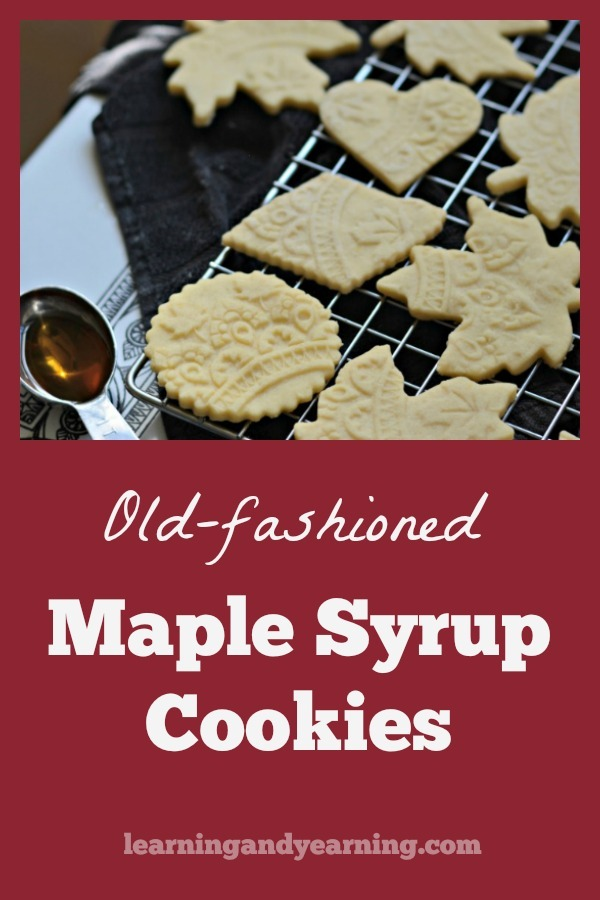 Love a crispy, old-fashioned butter cookie? Try going one step further with the addition of maple syrup. Old-Fashioned Maple Syrup Cookies are simply wonderful!