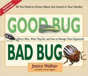 good bug bad bug organic gardening book