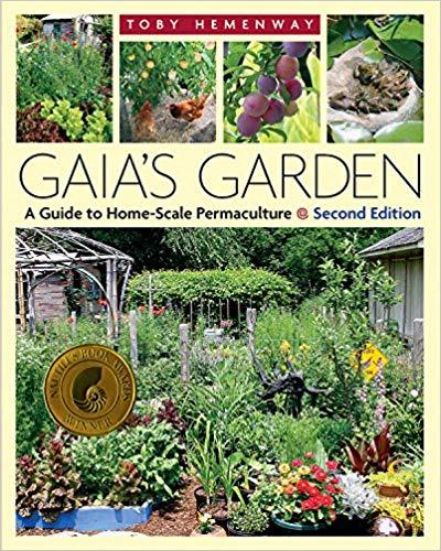 Gaia's Garden organic gardening book