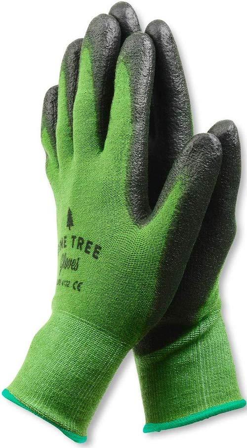 bamboo gardening gloves