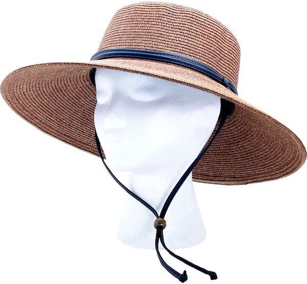 hat for gardening