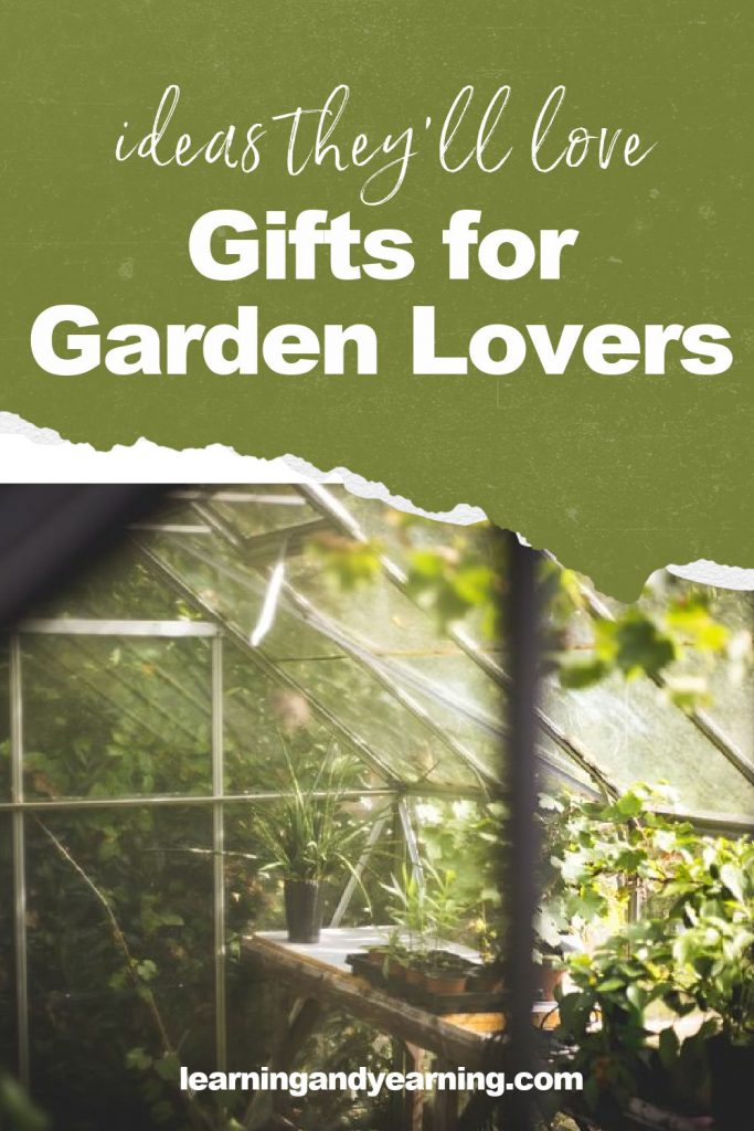 Gifts for garden lovers!