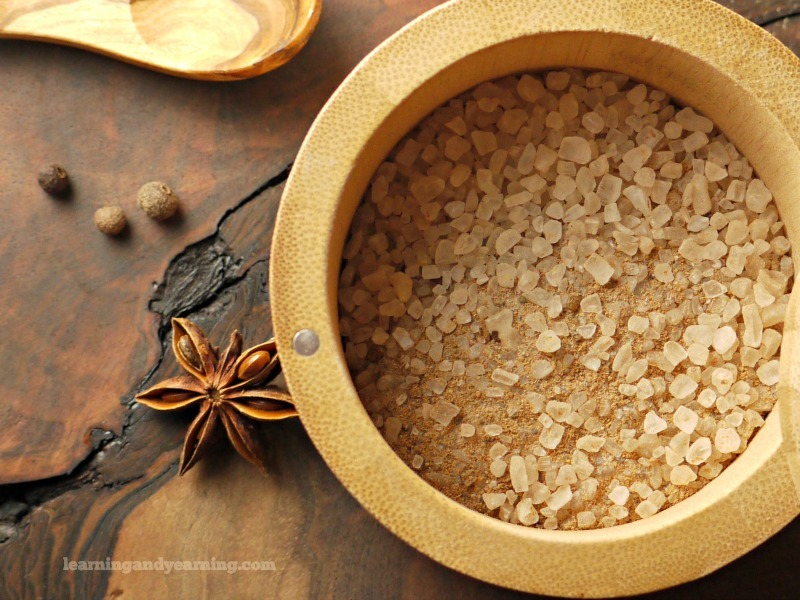 warming chai spice bath salts
