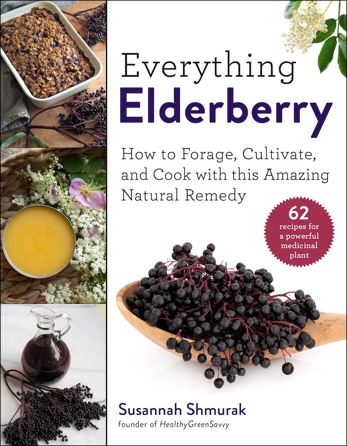 Book: Everything Elderberry by Susannah Shmurak