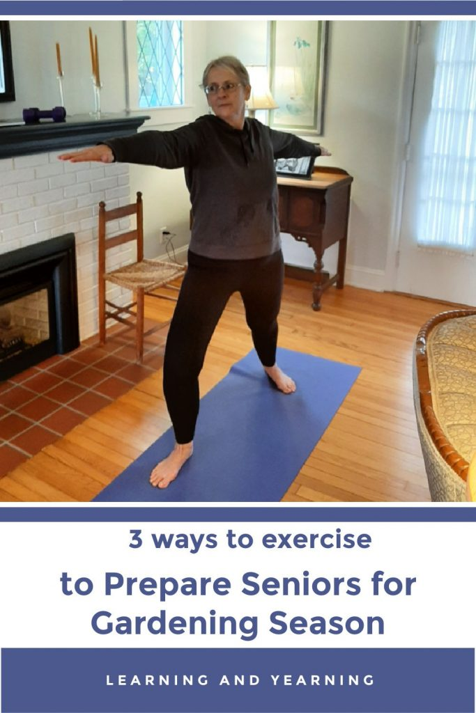 Exercise with Silver&Fit for seniors - you'll be strong enough to tackle the garden in no time! #silver&fit